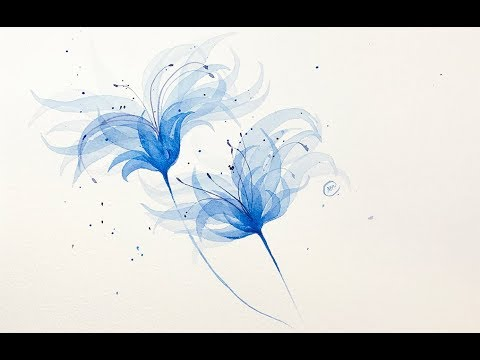 Transparency of Watercolors EASY Exercise Painting Tutorial