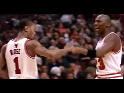 Derrick Rose & Michael Jordan - Wings
