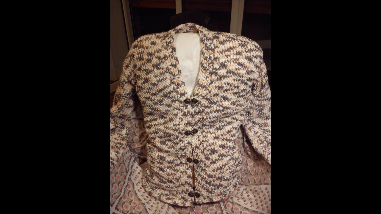 Womens v neck cardigan loom knitting youtube womens v neck cardigan loom knitting bankloansurffo Choice Image