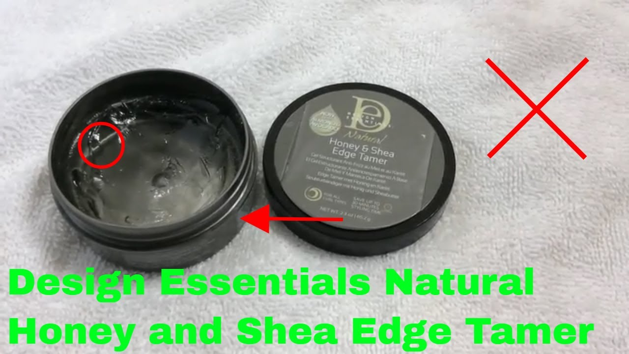 How To Use Design Essentials Natural Honey And Shea Edge Tamer