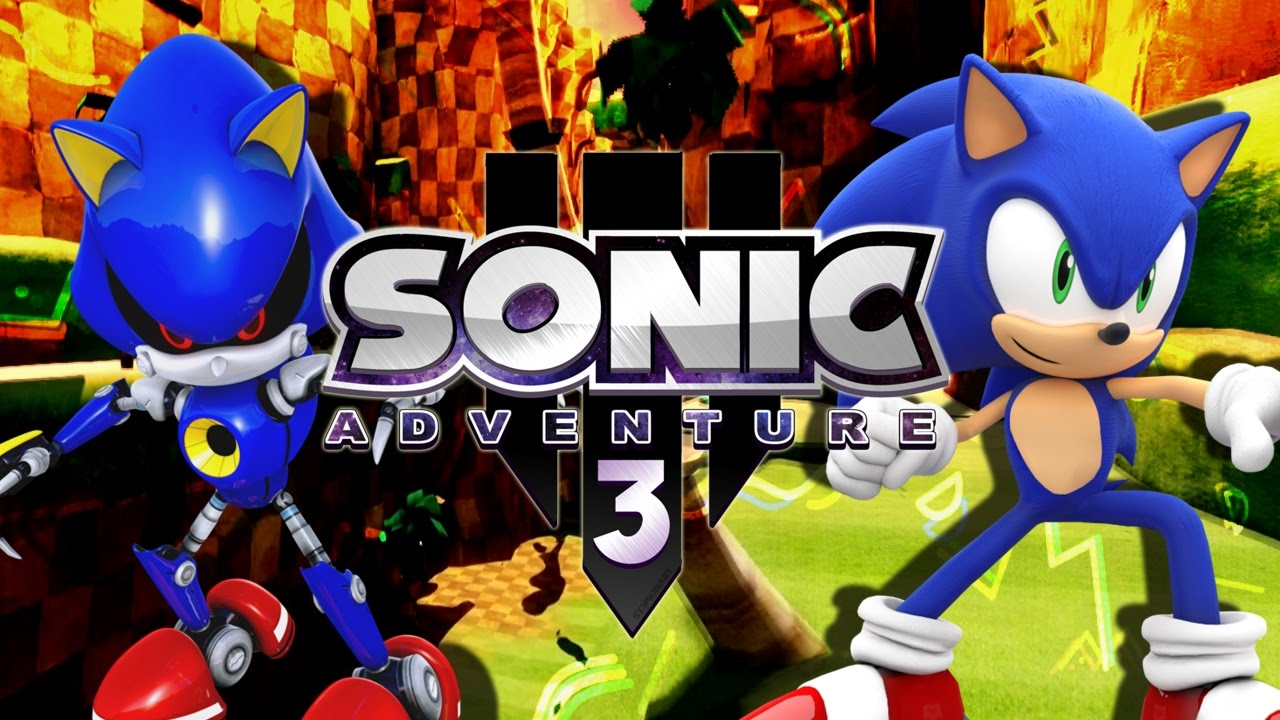 la calidad es incre ble sonic adventure 3 fangame youtube