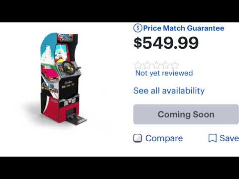 Arcade1Up Stand Up Out Run Price Arcade 1Up OutRun from rarecoolitems