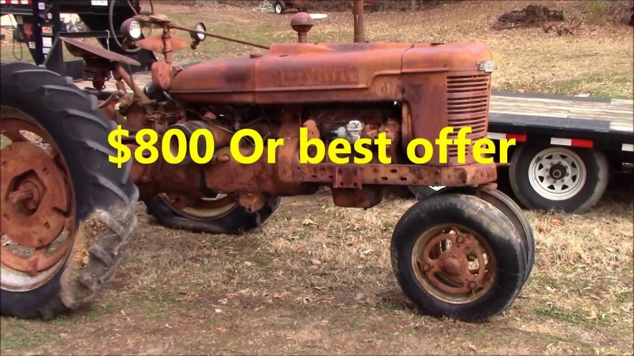 1944 Farmall H For Sale      SOLD 2-9-18