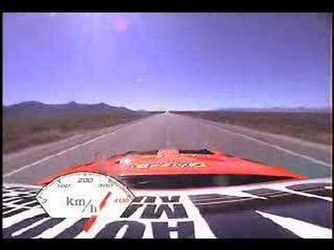 Nissan 350Z Race Car crash at 300 km/h