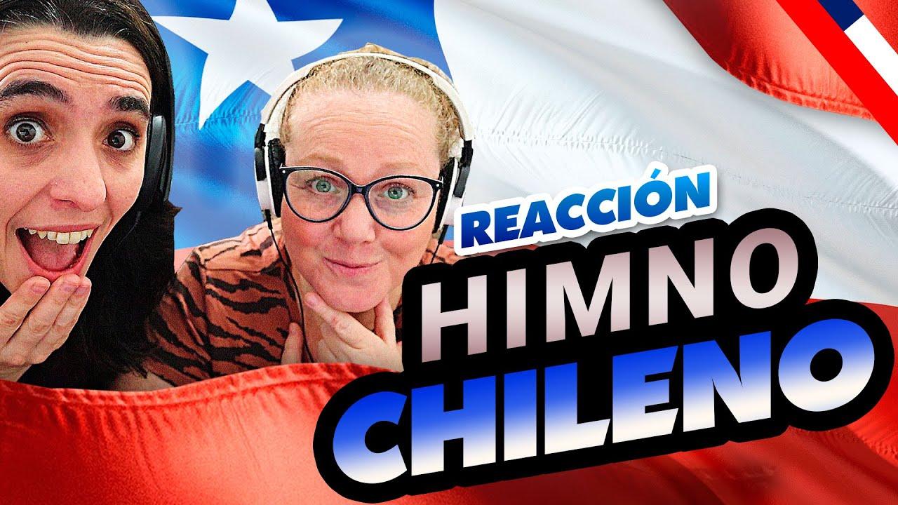 ARGENTINAS reaccionan al HIMNO NACIONAL de CHILE | Reacción a Himno Chileno ❤️