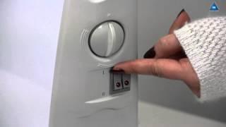 видео Электроконвектор универсальный (настенно-напольный) ЭВУБ-2,0/220