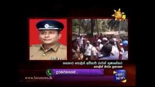 Sihala Ravaya (Ravana Balaya) create chaos @ Kuragala 04-04-15