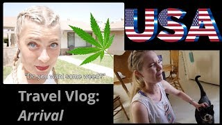 USA Travel Vlog (Part 1) Arrival