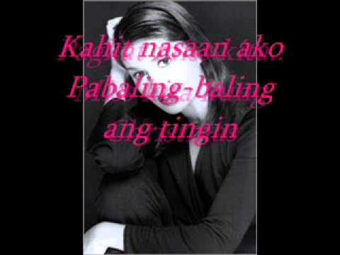 Miss kita kung Christmas  donna cruz with lyrics