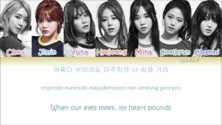 AOA - Heart Attack  (심쿵해) (Color Coded Han|Rom|Eng Lyric…