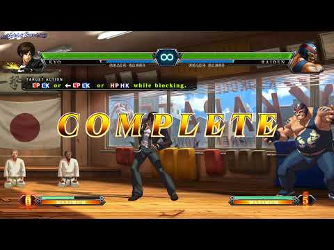 The King of Fighters XIII Steam edition gameplay - GogetaSuperx |