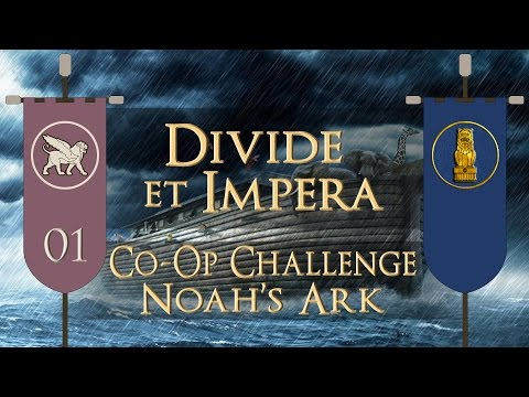 Total War: Rome II (DEI Co-Op Challenge: Noah's Ark) - Parthia & Arachosia - Ep.01 - Beast Mode!