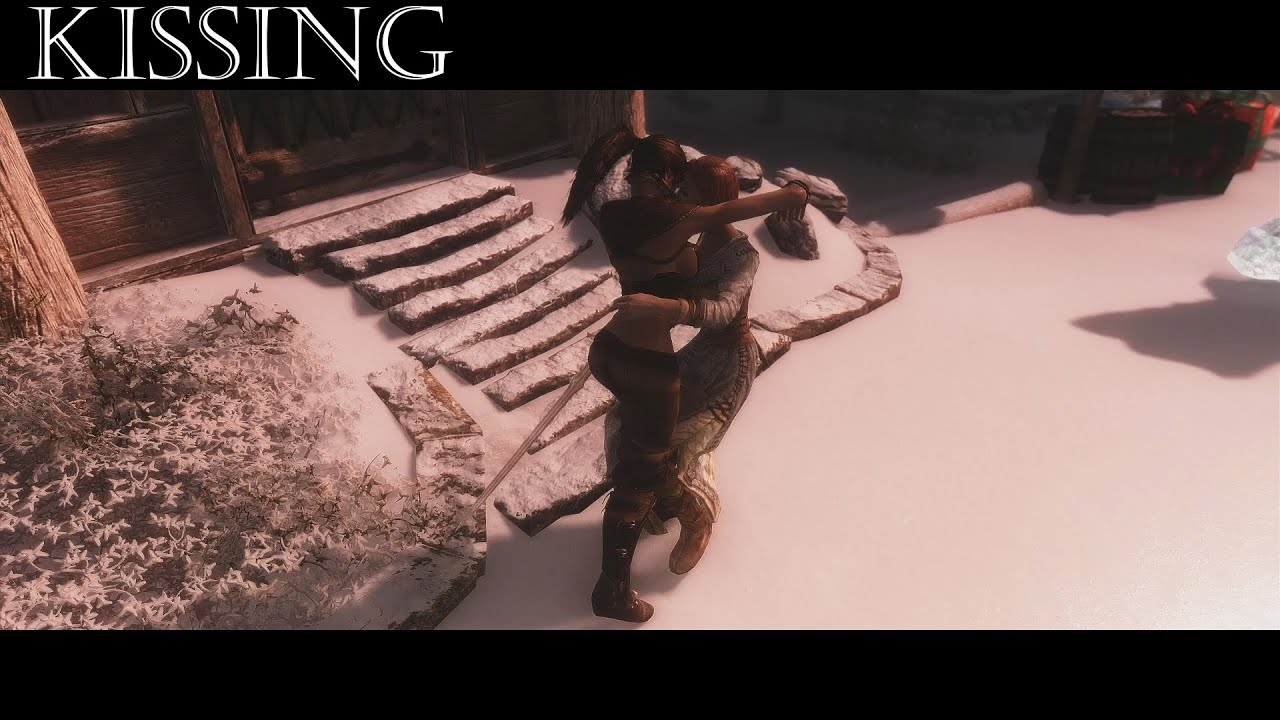 A Skyrim Kissing Mod That Doesn't Totally Suck