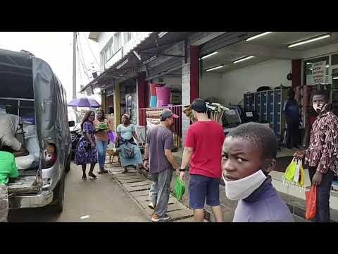 Le Marché de Port Gentil Part#2 - Kali ini memang sengaja, tidak nyasar 😅