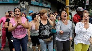 Venezuela'da ekonomik kriz isyan ettirdi