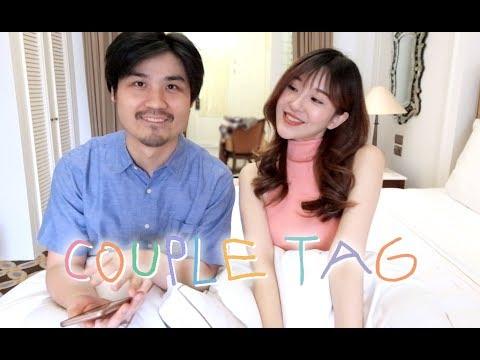 Couple Tag Q&A (Eng Sub) | Jess Yamada #AntJess