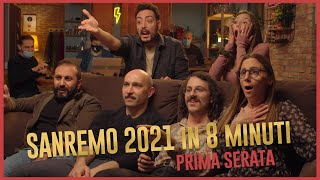 The Jackal - SANREMO 2021 in 8 minuti - Prima Serata