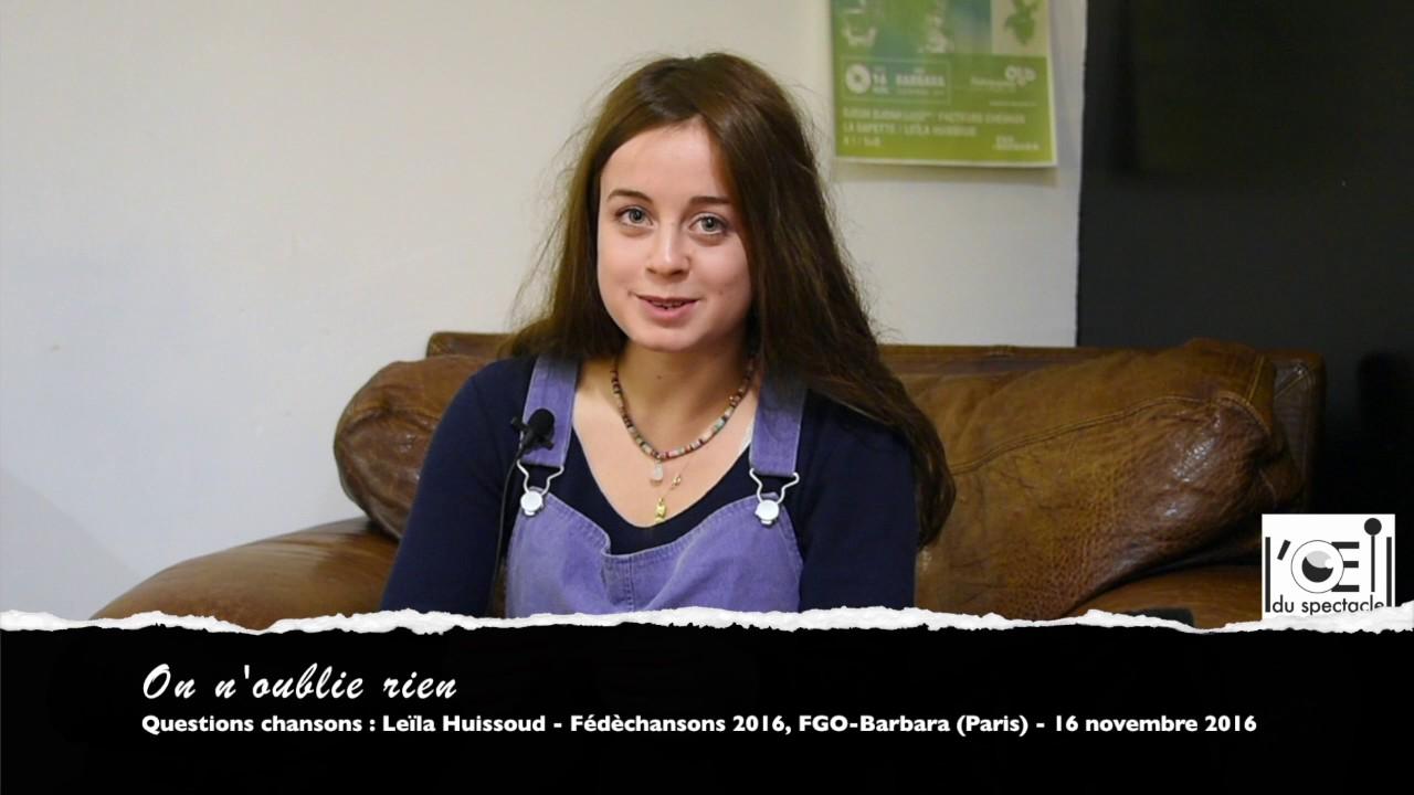 LEILA HUISSOUD
