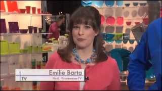Zak! Designs Discusses Moso Bamboo Dinnerware on Housewares-TV (Emilie Barta, Video Producer/Host)