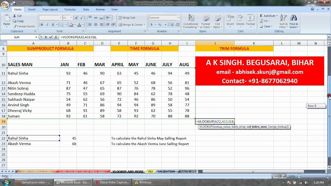 FREE EXCEL 2007 TUTORIAL EBOOK PDF