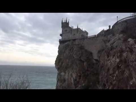 Крым. Гаспра. Дворец-замок Ласточкино гнездо