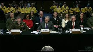 Top DoD Leaders Address Budget Issues Before Senate Committee April 26, 2018