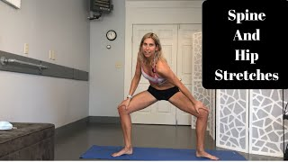 Stiff Spine And Hip Stretches- 5 Minute Mobility