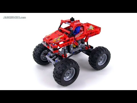 LEGO Technic 42005 Monster Truck 2-in-1 review! - JANGBRiCKS  - cYYzba3t-sc -
