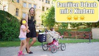 Familien Urlaub mit 3 Kindern! Verliebt in Schwerin 😍 Familienzimmer Roomtour VLOG | Mamiseelen