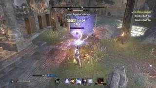 Official DPS test Magicka Sorcerer Rotation EZ