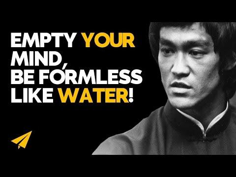 """Be Like WATER!"" - Bruce Lee - #Entspresso"