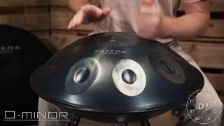 PATERA Handpan D-MINOR // Steel Drum // Klangschale // Groove // Relax // Healing // Enjoy // PEACE