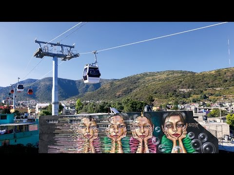 The first urban ropeway in Mexico - GD10 Ecatepec