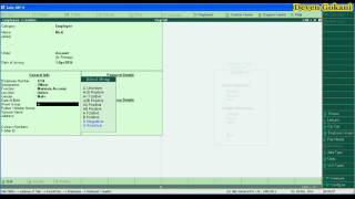 Tally ERP 9 Payroll Accounting Part 02 In Hindi