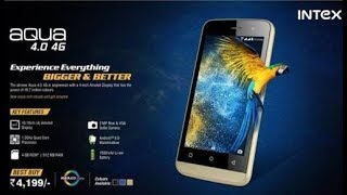 INTEX AQUA 4.0 4g amoled display mobile ..my views after using it for a day (HINDI)