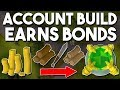 How to Build an Account in 5 Hours that Earns Bonds! [P2P] Building a Fletching Alt! [OSRS]