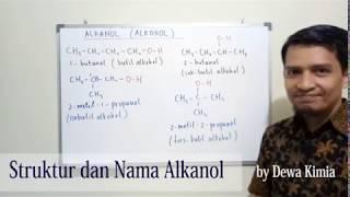 Struktur dan Nama Alkohol