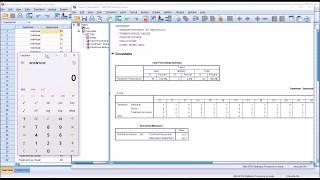 Calculating and Interpreting Eta and Eta-squared using SPSS