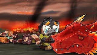 Minecraft Dragons - DEATH OF MY FIRE DRAGON!
