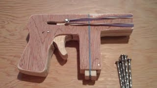 Homemade Wooden Gun