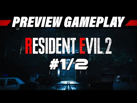 Resident Evil 2 HD Remake Preview Gameplay German #1 | Let's Play Resident Evil Remaster Deutsch
