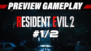 Resident Evil 2 HD Remake Preview Gameplay German #1 | Let