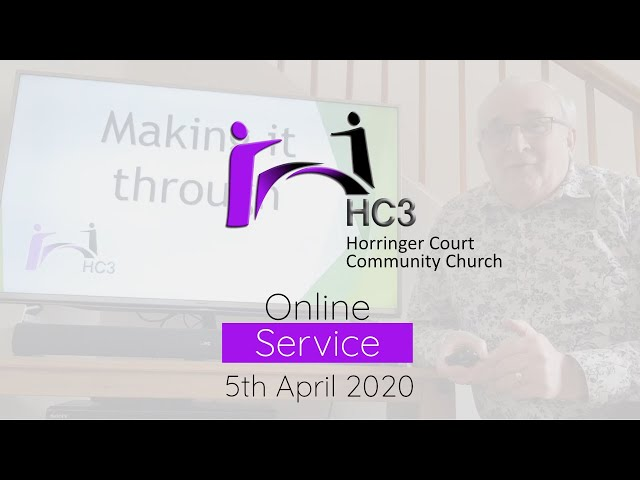 HC3 Online - 5th April 2020 - The Right Carriage