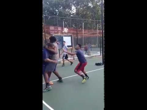 Two Men Fight After Playing Pick Up Basketball!!!!