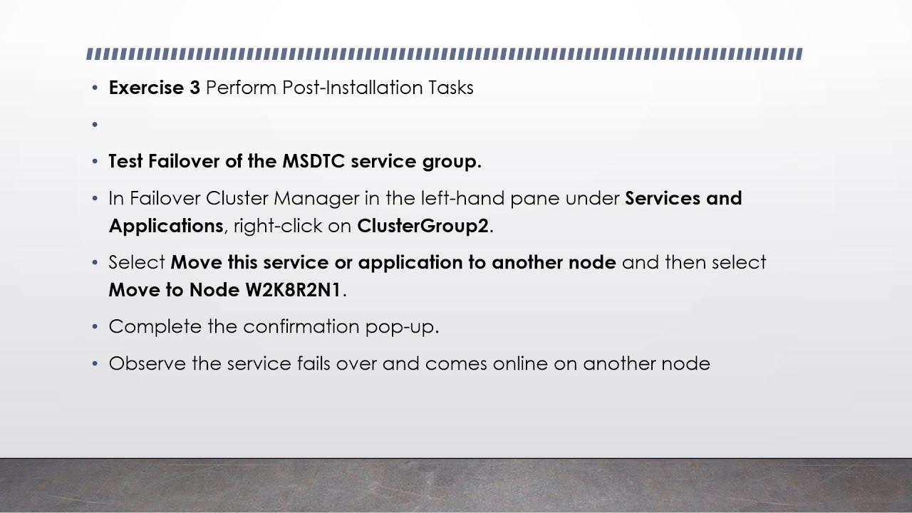 Event Warning 4879 Microsoft-Windows-MSDTC Client 2