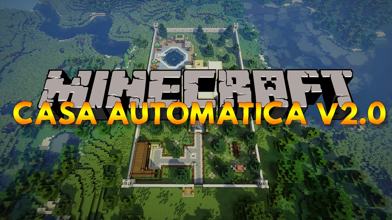 Casa automatica redstone minecraft v2 0 youtube for Piccoli progetti di casa di minecraft