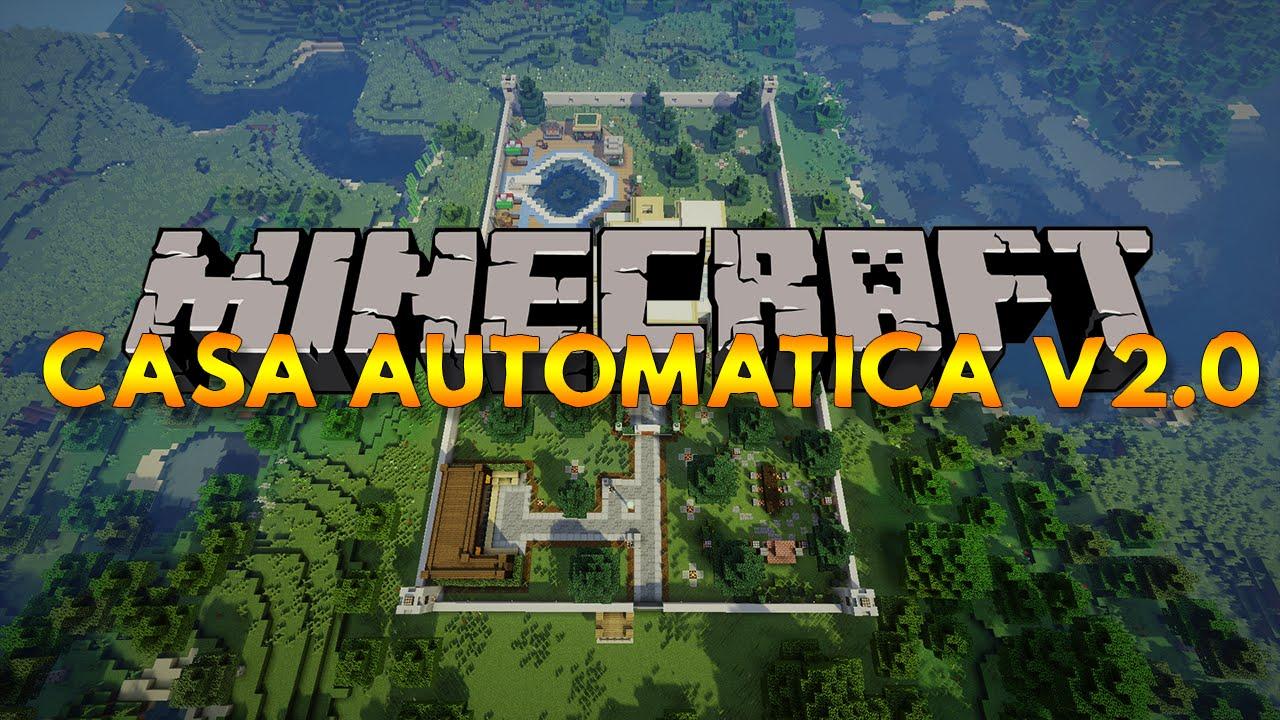 Casa Automatica Redstone Minecraft V2 0 Youtube