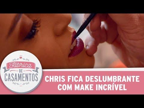 Chris Diva Com Make Incrível | Fábrica De Casamentos (03/06/17)