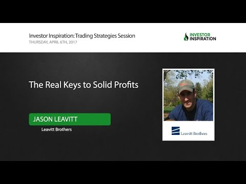 The Real Keys to Solid Profits | Jason Leavitt