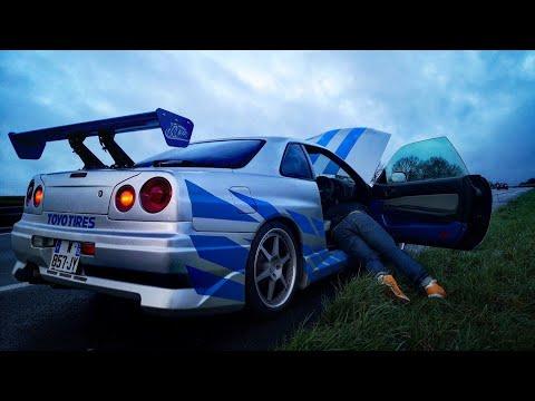 Je Prête Ma GTR à Un Inconnu! Skyline R34 2Fast 2Furious